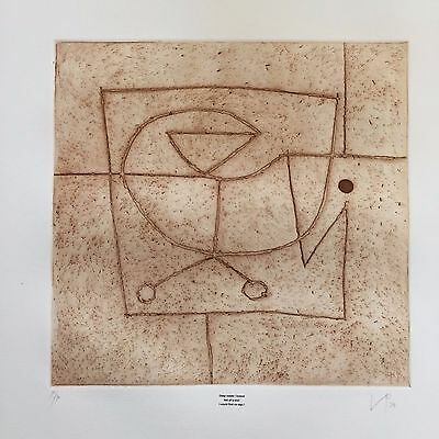 Victor Pasmore Pencil Signed Etching, Aquatint & Silkscreen 1974 Limited Ed