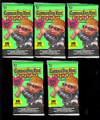 GARBAGE PAIL KIDS FLASHBACK SERIES 1 CARD PACK x5 MINT SEALED $29.99 COMIC KINGS