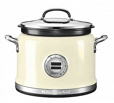 KitchenAid ARTISAN Multi Cooker 5KMC4241EAC Multikocher Creme wie NEU #Y86-2390