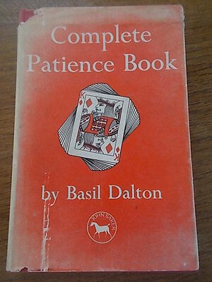 1948 The Complete Patience Book by Basil Dalton 3 books in 1 Games & Puzzles HB
