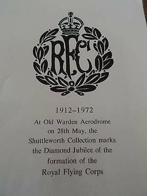 Rare Royal Flying Corps Booklet RFC RAF Royal Air Force Illustrated WW1 WW2 A4Sz