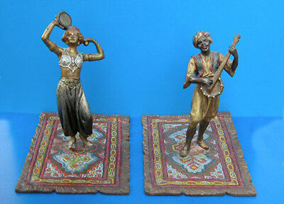 Austrian Viennese Bronze Figurines Sale Price Reduced