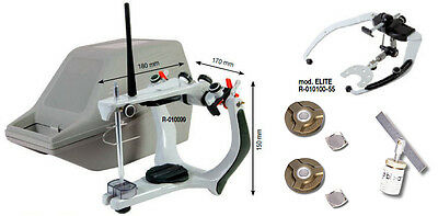 Arquimedes Profesional Mestra Semiadjustable Articulator+Face Bow+Box+Accesories