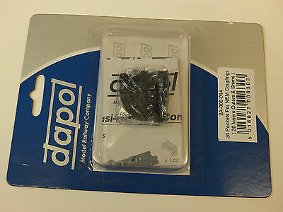Dapol N Gauge 2A-000-014 NEM Magnetic Coupling Pockets (20)