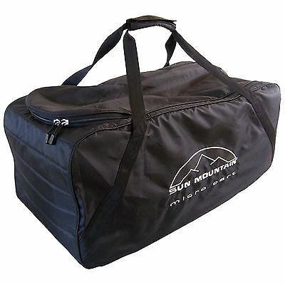 Sun Mountain Micro Cart Golf Trolley Cover - New Carry Travel Bag Luggage Case