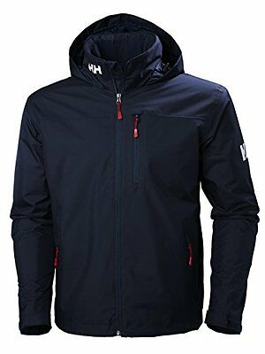 Tg Large| Helly Hansen Crew Hooded Midlayer Jacket giacca di Ponte calda uomo, U