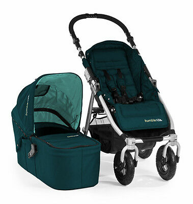 NDB-Bumbleride Indie 4 - The Compact,Lightweight All-Terrain Stroller-Lotus Blue