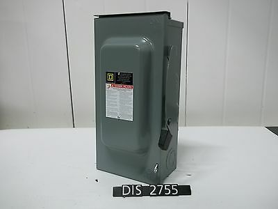NEW OTHER Square D 240 Volt 100 Amp Non Fused Disconnect (DIS2755)