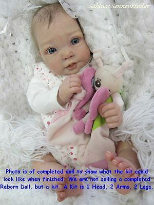 Reborn Doll Kit, Fenna By Elly Knoops, Vinyl Doll Kit