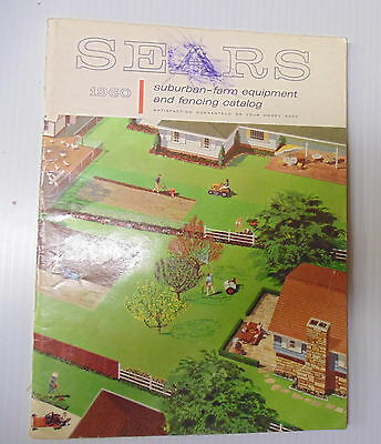 1960 Sears Suburban Farm Equipment and Fencing Catalog Nice Condition