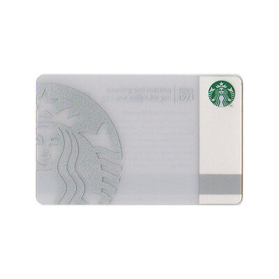 Lot of 5 Silver 40th Anniversary (2011) Collectible Starbucks Gift Card | #6066