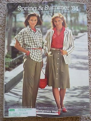 Vintage 1984 Montgomery Ward Spring and Summer '84 Store Catalog