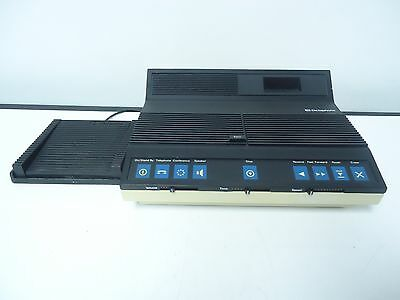 Dictaphone  2870 Electric Dictating Machine Cassette Transcriber W Foot Pedal