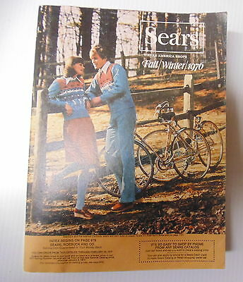 1976 Sears Fall Winter Catalog Very Nice Condition