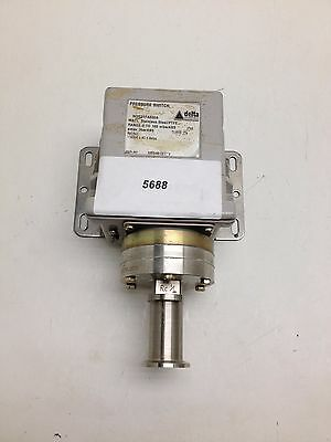 Delta Controls Pressure Switch W207  0-160 mBar ABS   #5688
