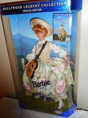 Barbie as Maria in The Sound Of Music Hollywood Legends Collection 13676 NRFB