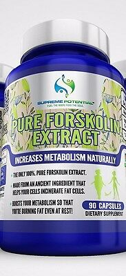 Forskolin 100% Pure Extract 450mg *Maximum Strength Belly Buster* (90 Capsules)