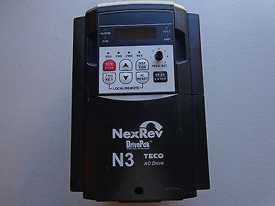 TECO  N3-403-C-U  5HP  3.7KW  3PH DrivePak Variable Frequency Drive