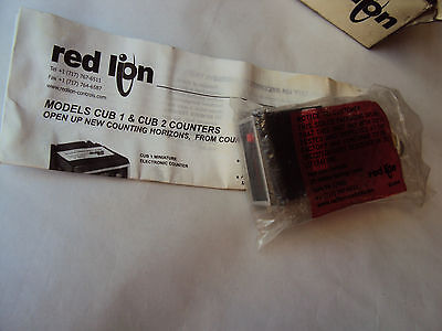 New ! Red Lion Cub 1000008045 Miniature Electric Counter Cub1