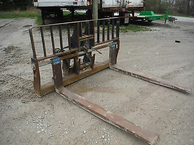 "Gradall 72"" Hydraulic Side Tilt Telehandler / Telescopic Forklift Fork Carriage!"