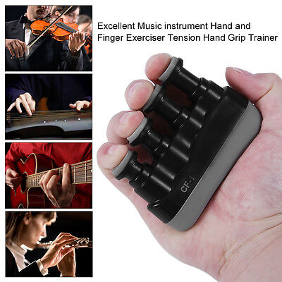 Excellent Music instrument Hand and Finger Exerciser Tension Hand Grip Trainer U