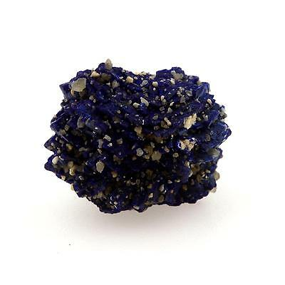 Chessylite ( Azurite ). 13.6 cts. Chessy-les-Mines, Rhône, France. Rare