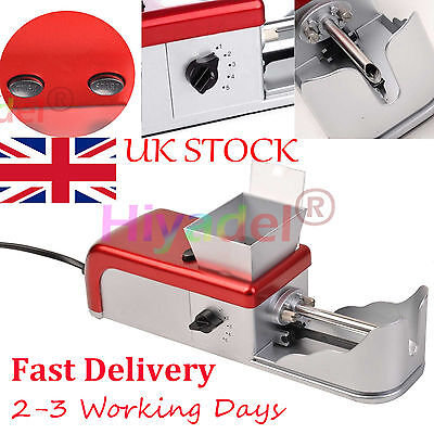Cigarette Rolling Machine Electric Automatic Tobacco Roller Injector Maker #DYN3
