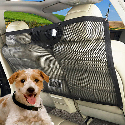 Car Seat Back Dog Cat Mesh Protector Barrier Solation Block Safety Pet Guard Net