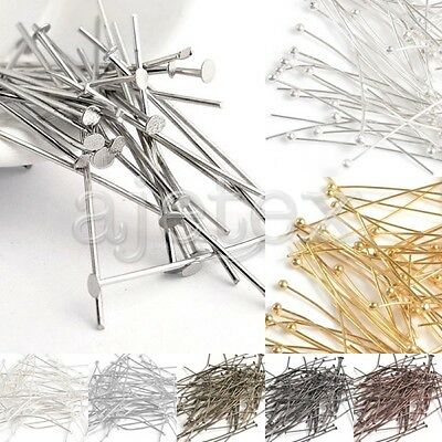 30g Iron Head Pins 21 Gauge Jewellery Making Findings Beading Crafts All Sizes