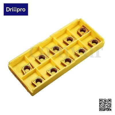 Drillpro CCMT09T304 CCMT32.5 Carbide Insert Blades For SCLCR Cutter Turning Tool