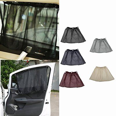 Car Side Window Curtain Sun Shade Curtain Windshield Sunshade UV Protection LN