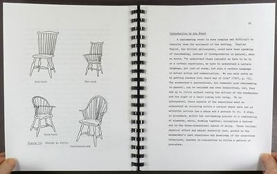 Antique American Windsor Chair & Their Makers - Thesis Study by Schwarz