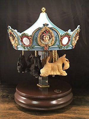 Scottie Carousel Music Box - Vintage - (San Francisco Music Box Co.)
