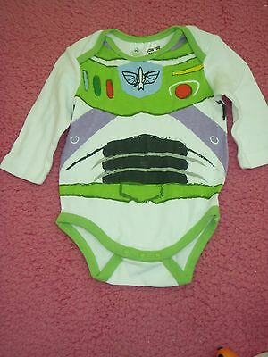 baby boys size 00 disney baby buzz lightyear toy story onsie outfit romper