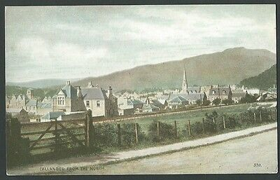Callander Perthshire From The North Vintage Nimmo Printed Postcard