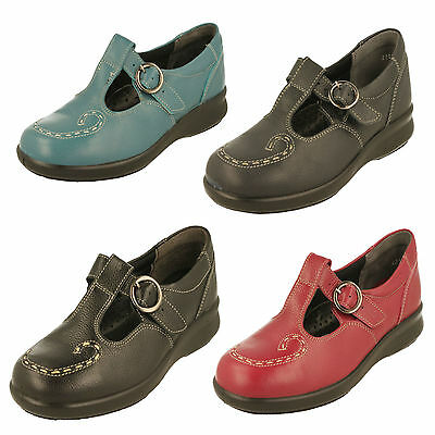 Ladies Easy B DB Shoes Wide Fitting - Jenny