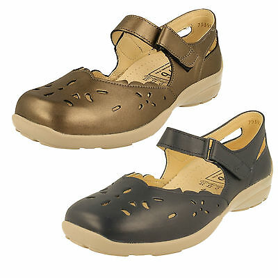 Ladies Easy B DB Shoes Wide Fitting - Erin