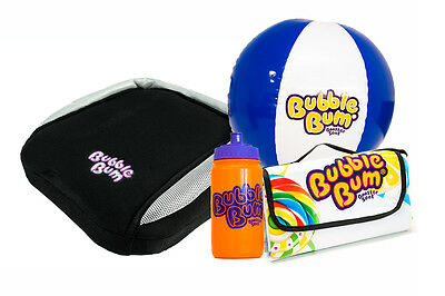 BubbleBum Car Booster Seat - On The Road Bundle - Black