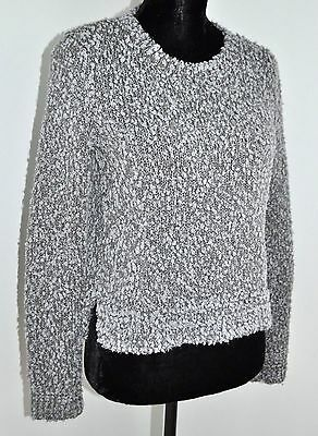 b416f4ee9c Hollister Grey Gray Chunky Knit Sweater Casual Women s Misses Size XS Extra