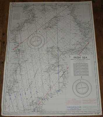 Nautical Chart R.58 - The Irish Sea, Smalls to Belfast Lough 1967
