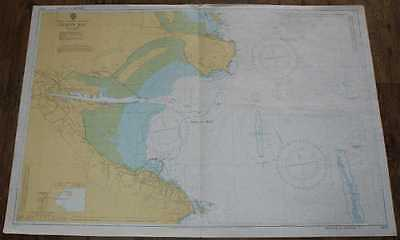 Nautical Chart No. 1415 Republic of Ireland - East Coast, Dublin Bay 1979