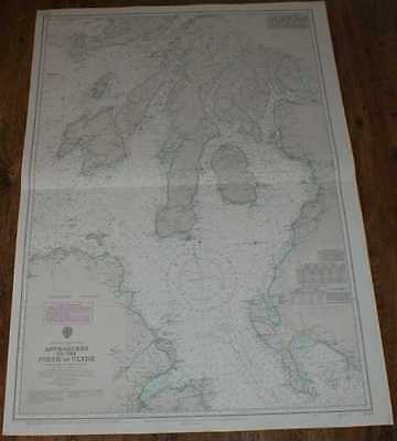 Nautical Chart No. 2724, Scotland - West Coast, Approaches to the Firth of Clyde