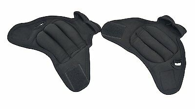 ProSource Pair of Fitness Heavy Duty 2-Pound  Neoprene Weighted Sculpting Gloves