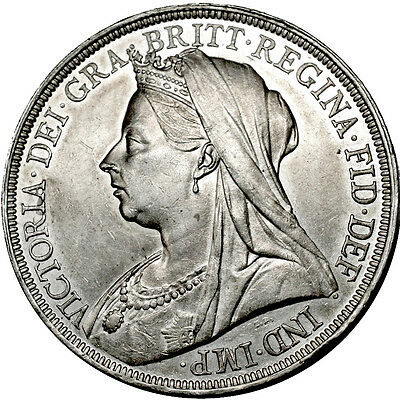 Victoria. Crown. 1897..   Extremely Fine..  7053.