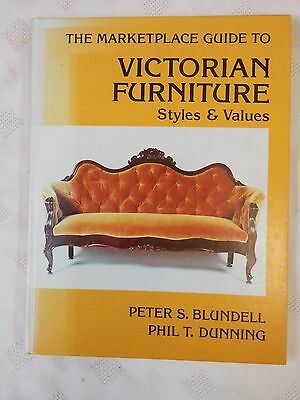 Vintage Victorian Furniture Styles & Values Reference Book Collector's Guide