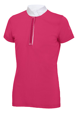 Pikeur Alexia Childrens Competition Shirt - Pink