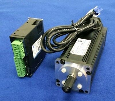 DYN2 AC Servo Motor and Drive 0.4kW 1-axis kit 3m cable CNC router mill mach3