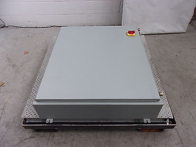 "Hoffman A423608LP Steel 44""Hx36""Wx12""D Enclosure w/Disconnect 12, 13 (ENC2350)"
