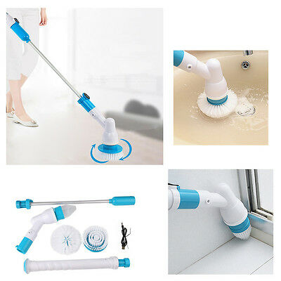 Cleaning Brush Hurricane Spin Scrubber ReChargeable Cordless Power Turbo Scrub