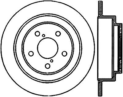 High Carbon Alloy Brake Disc Fits 1990 2008 Subaru Foresterimpreza